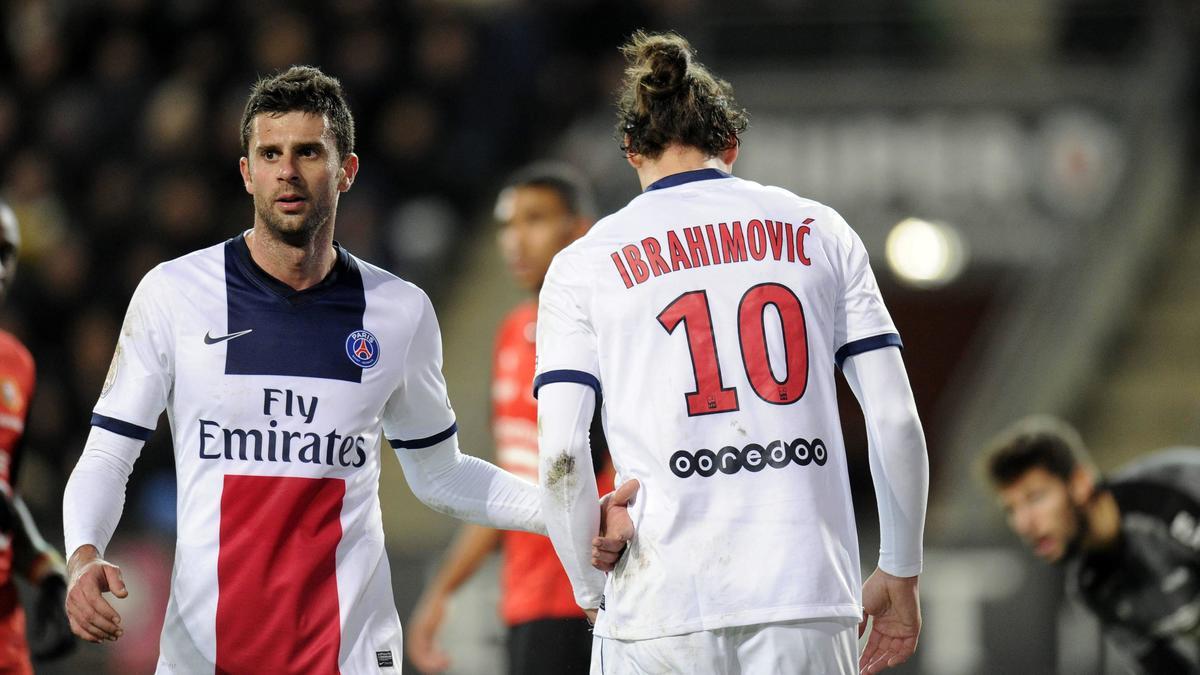 Thiago Motta & Zlatan Ibrahimovic, PSG