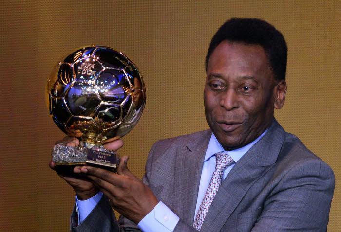 Pelé, en janvier 2014