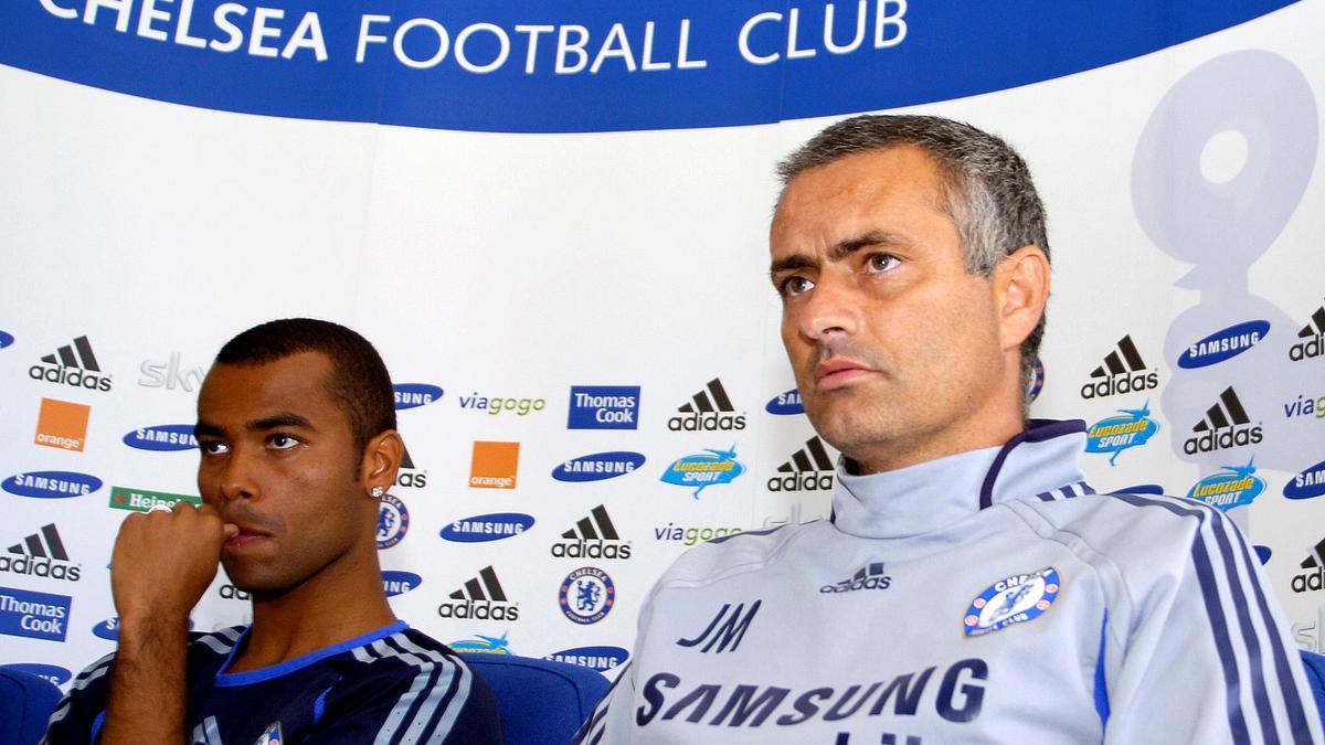 Ashley Cole & José Mourinho, Chelsea