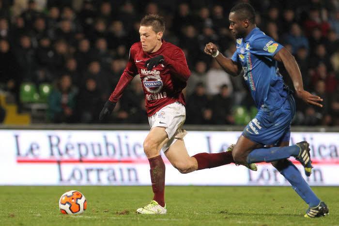 Gaëtan Bussmann, FC Metz