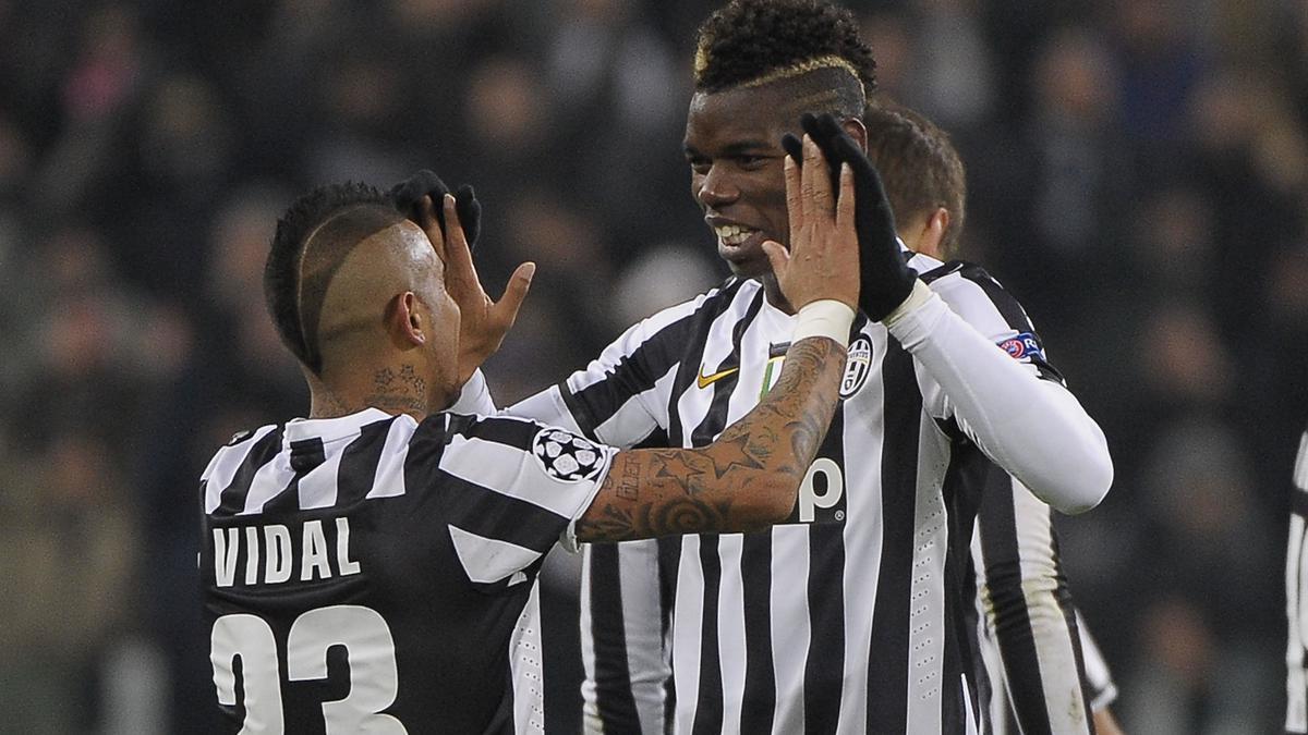 Arturo Vidal & Paul Pogba, Juventus