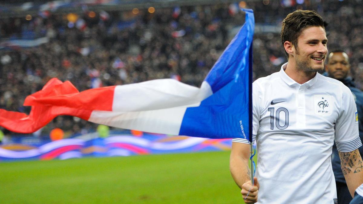 Olivier Giroud, équipe de France