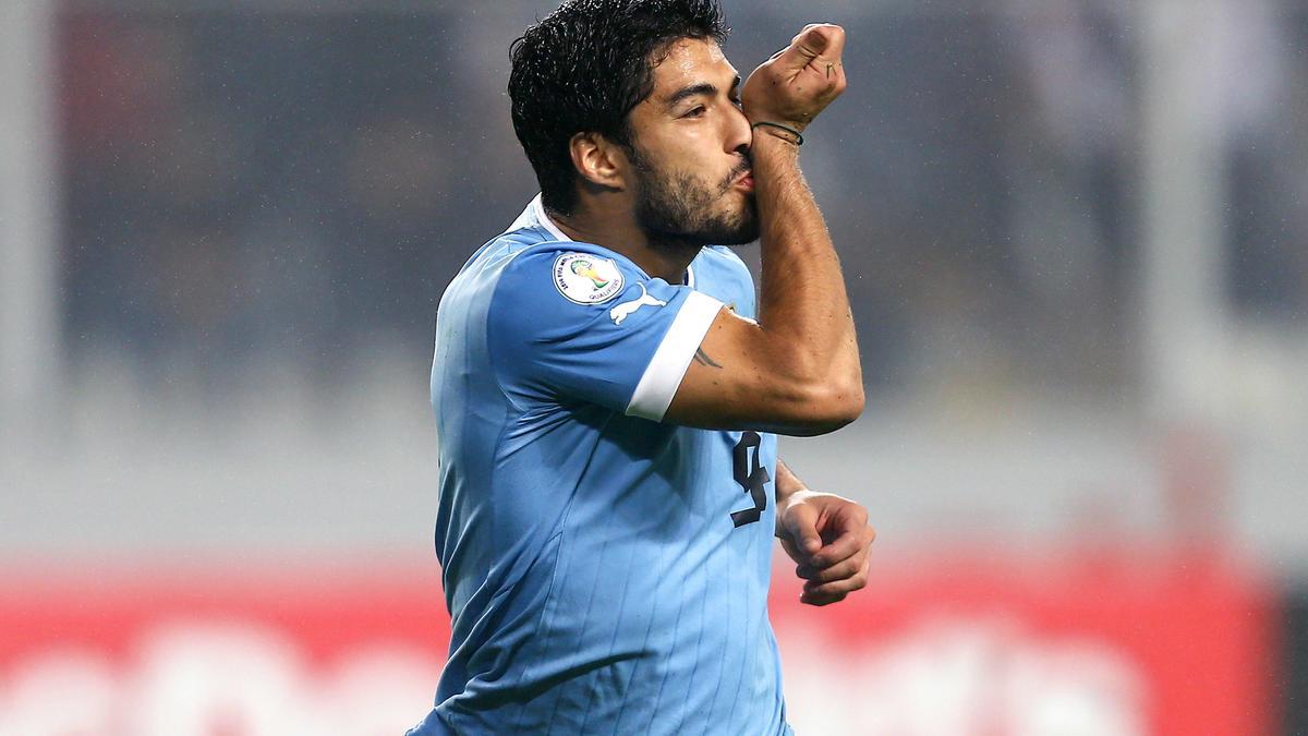 CDM 2014 - Uruguay : Suarez de retour à l'entraînement