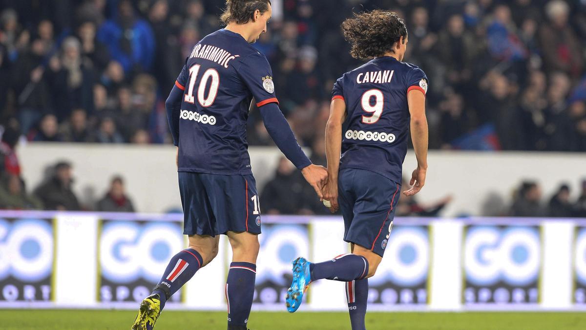 Zlatan Ibrahimovic - Edinson Cavani
