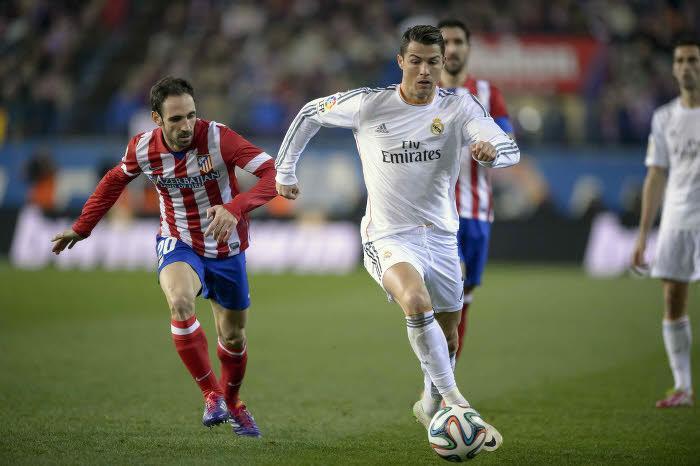 Cristiano Ronaldo lance les hostilités contre l'Atlético Madrid !