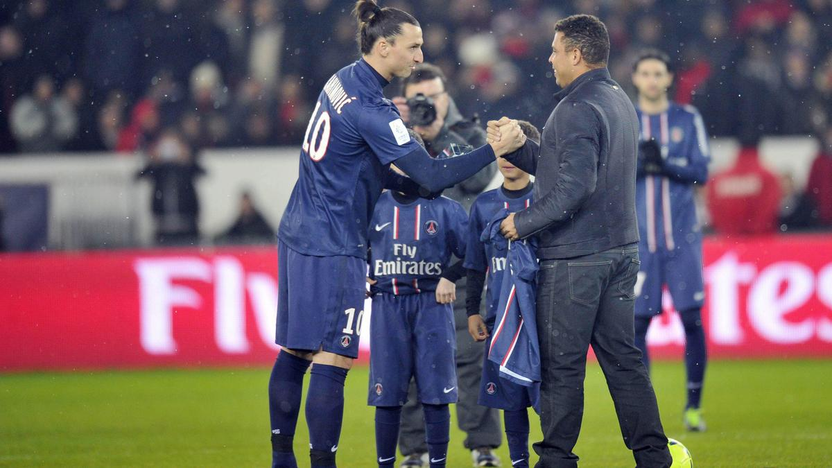 Zlatan Ibrahimovic & Ronaldo