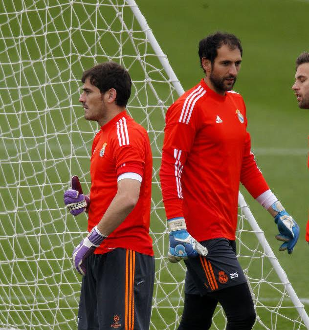 Iker Casillas et Diego Lopez, Real Madrid