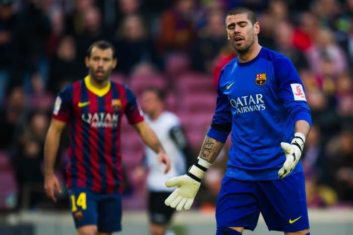 Victor Valdés, FC Barcelone