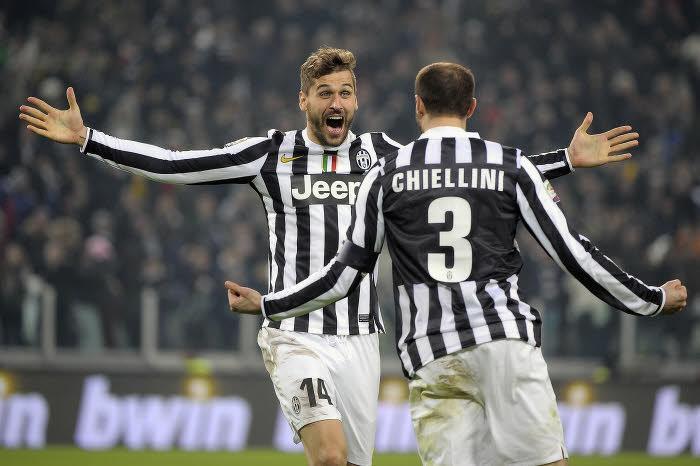 Fernando Llorente et Giorgio Chiellini, Juventus Turin
