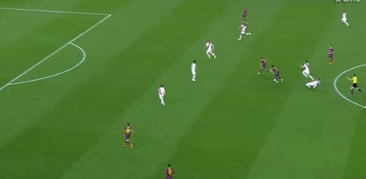 Barcelone :  Exceptionnel Neymar !  (vidéo)
