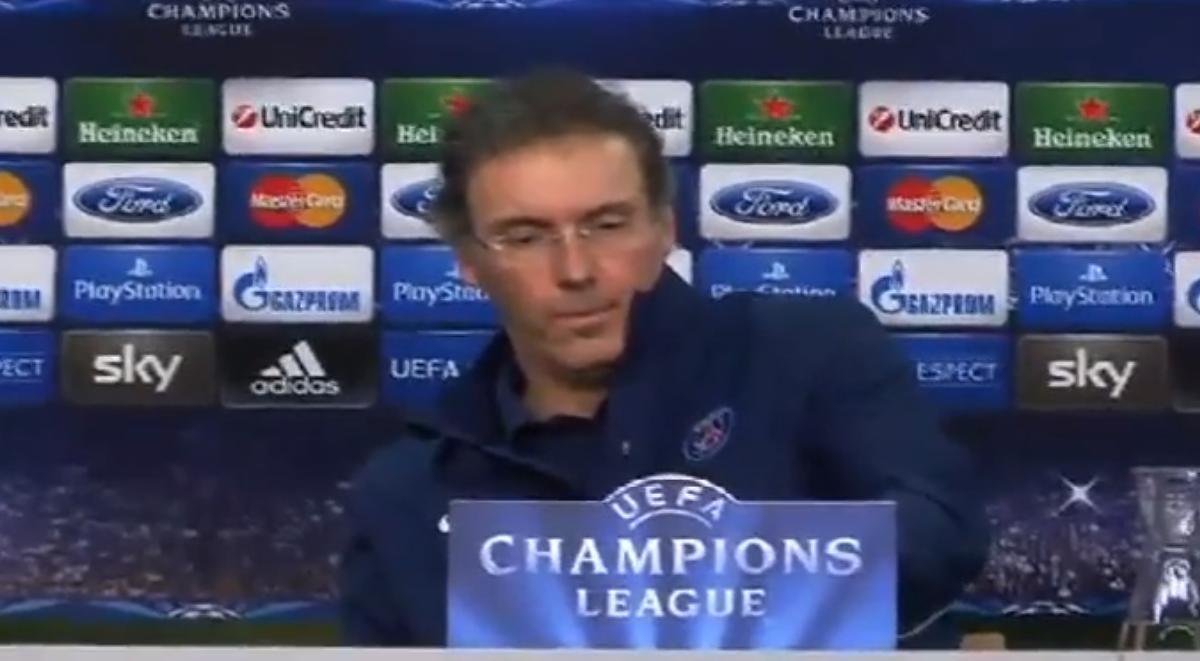 Ligue des Champions : Bayer Leverkusen/PSG : Revivez la conférence de presse de Laurent Blanc (vidéo)