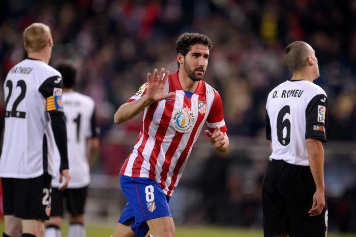 Raul Garcia, Atlético Madrid