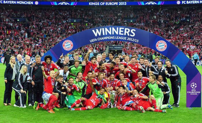 Bayern Munich, vainqueur en 2013