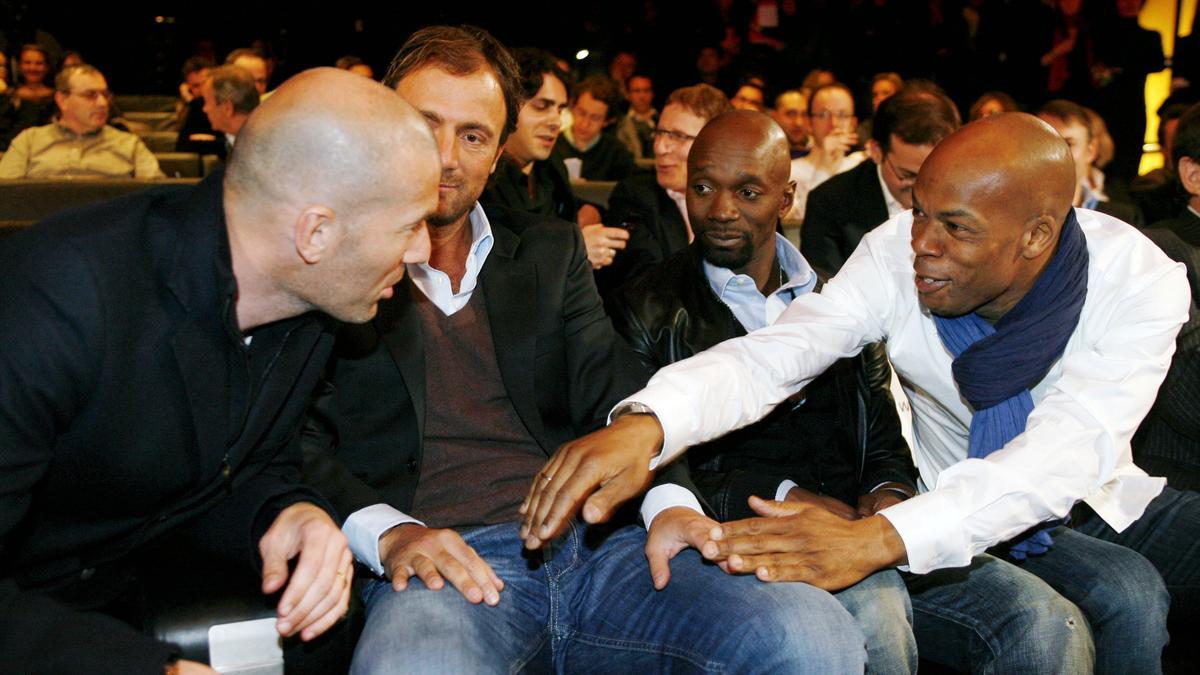 Zinedine Zidane - Claude Makelele