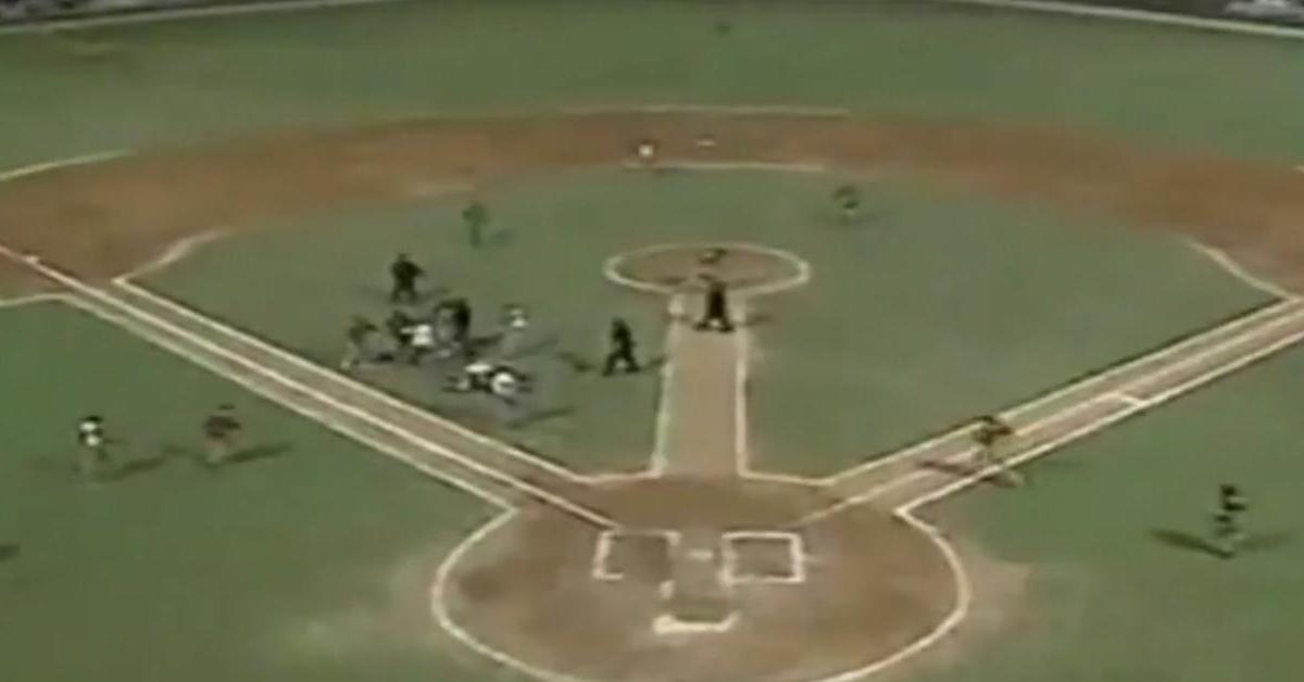 Insolite : Un match de baseball vire à la bagarre générale