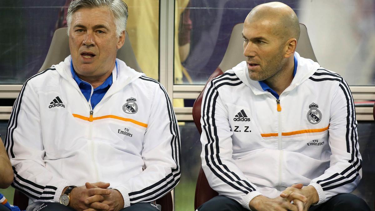 Real Madrid : «Zidane ? Après Ancelotti, ce sera lui... ou même avant»
