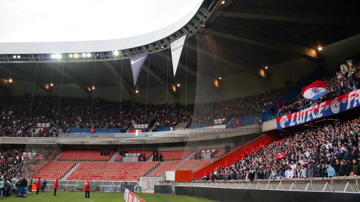 Tribune du Parc des Princes