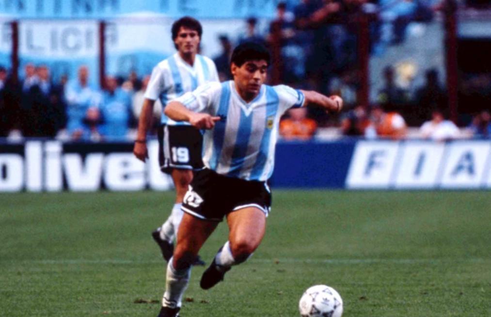 Argentine : Le superbe « coup du foulard » décisif de Maradona (vidéo)