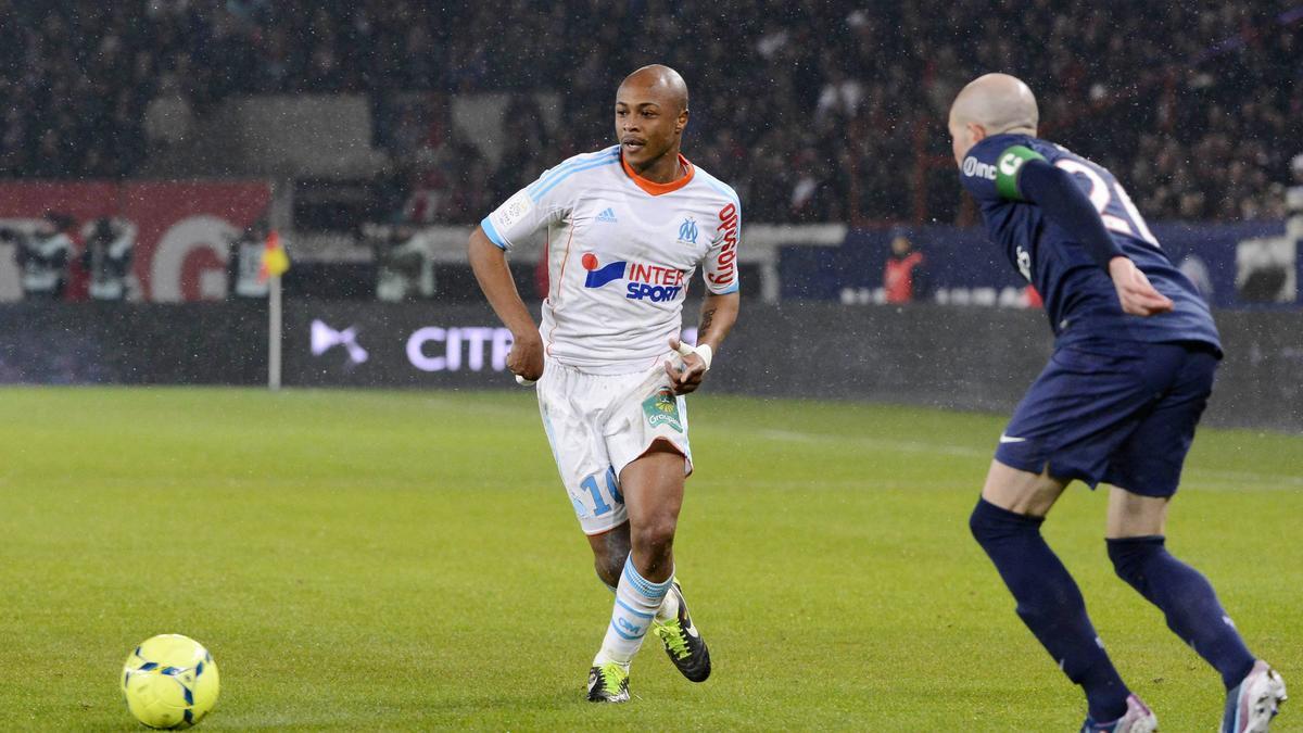 André Ayew - PSG