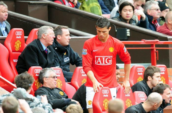 Cristiano Ronaldo et Sir Alex Ferguson, Manchester United (2009)