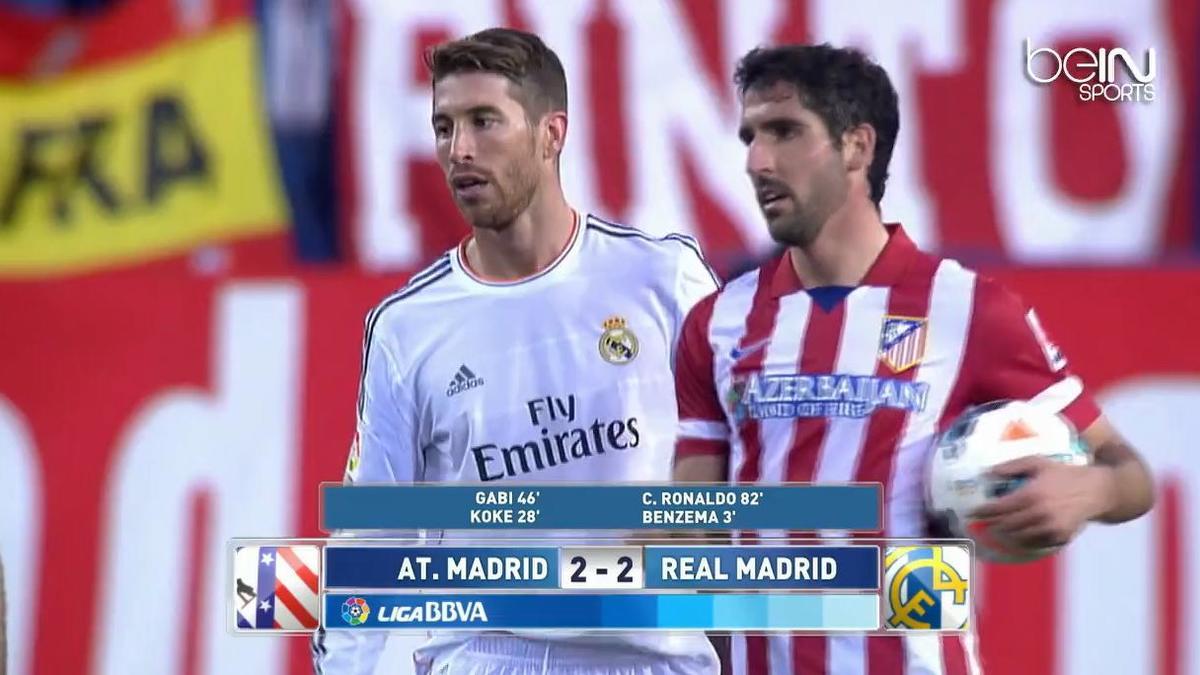 Liga : Résumé de Atlético Madrid 2-2 Real Madrid (vidéo)