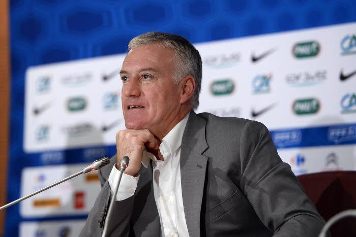 Equipe de France : Revivez les conférences de presse de Deschamps, Digne, Benzema et Griezmann (vidéo)