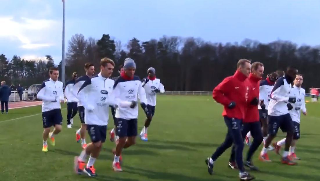 Equipe de France : Retour sur le premier entraînement des Bleus à Clairefontaine (vidéo)