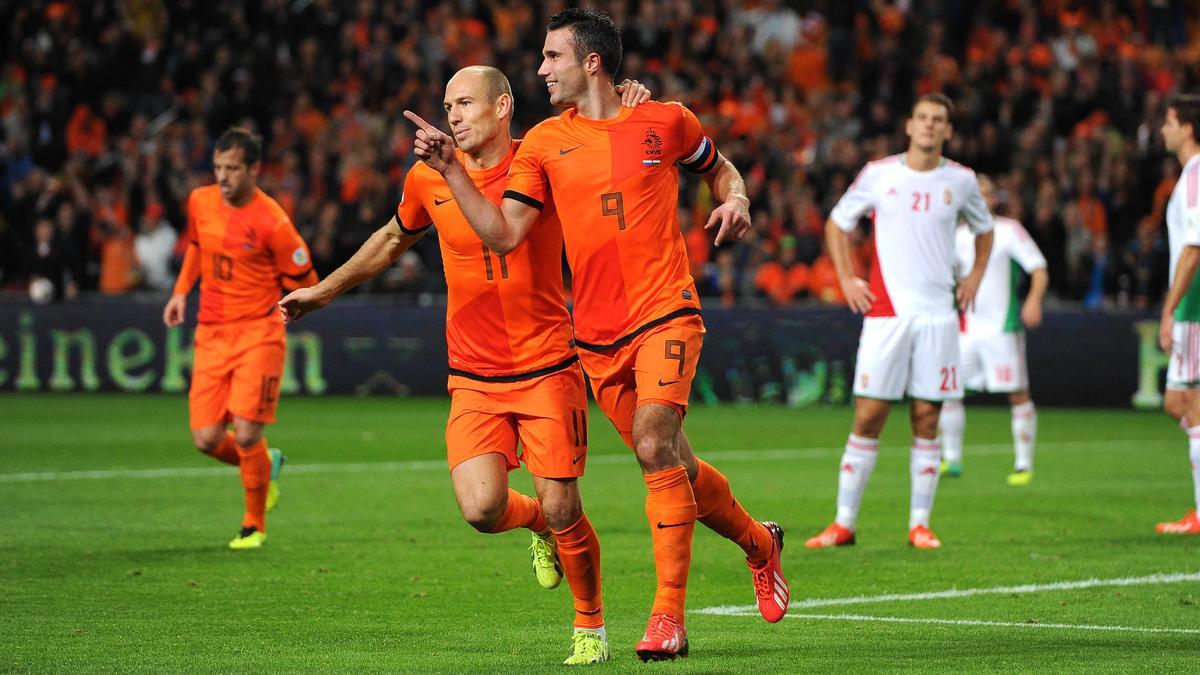 Arjen Robben & Robin Van Persie