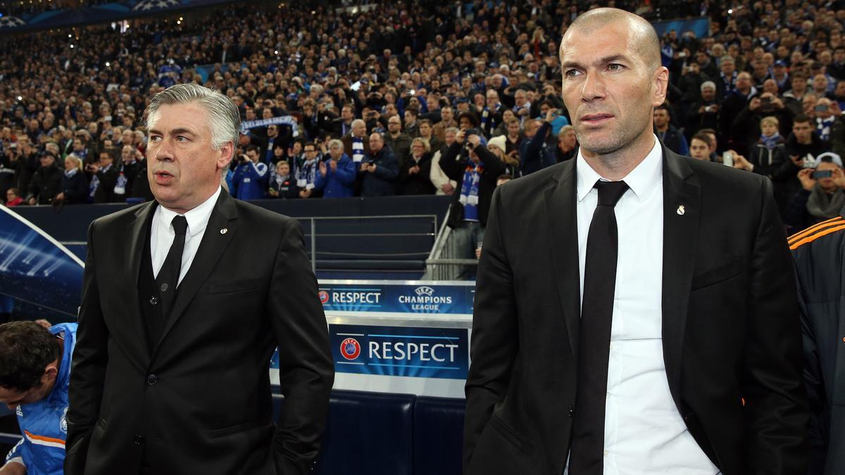 Carlo Ancelotti - Zinedine Zidane