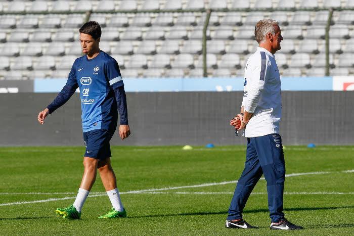 Samir Nasri et Didier Deschamps