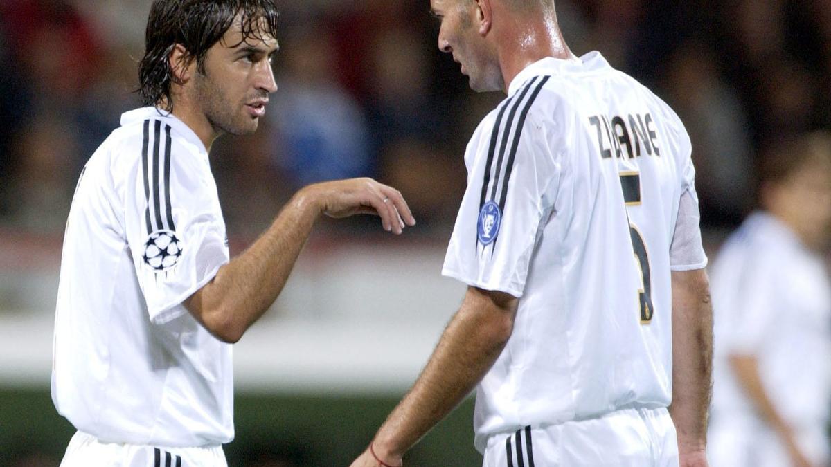 Raul - Zinedine Zidane