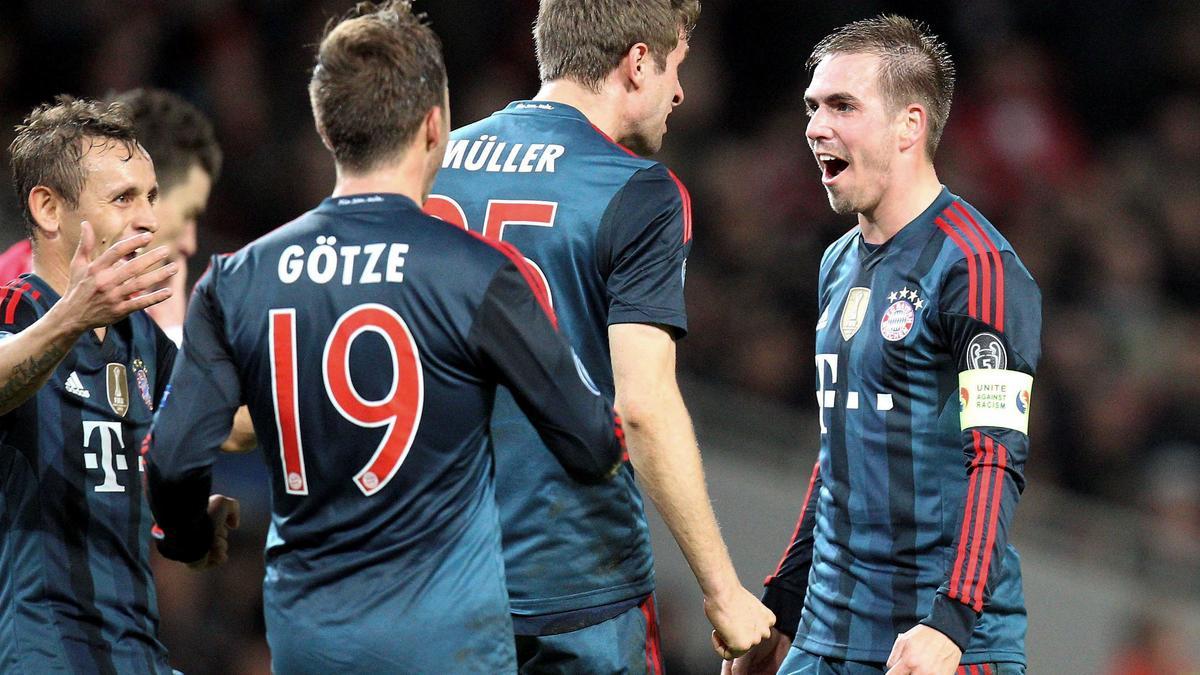 Philipp Lahm, Bayern Munich