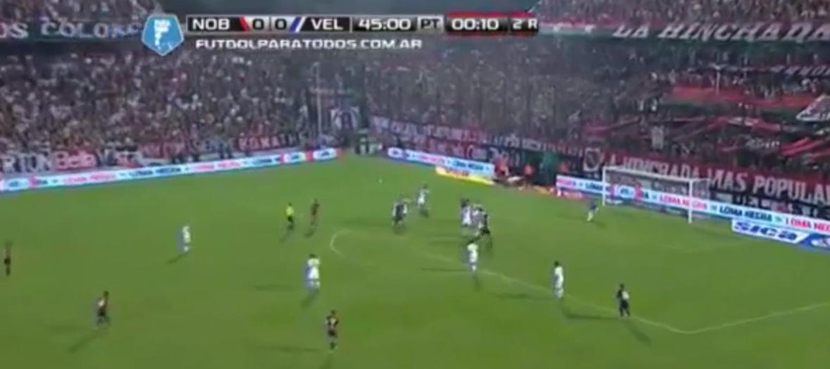PSG/OM : Gabriel Heinze décisif avec les Newell's Old Boys (vidéo)