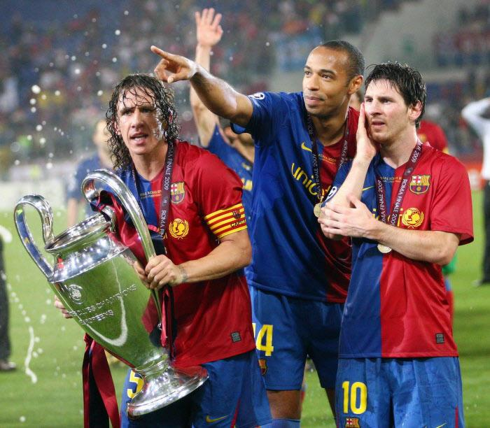 Carles Puyol, Thierry Henry