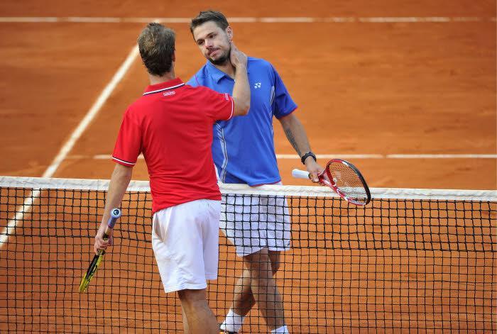 Tennis : Wawrinka conseille les Fran�ais