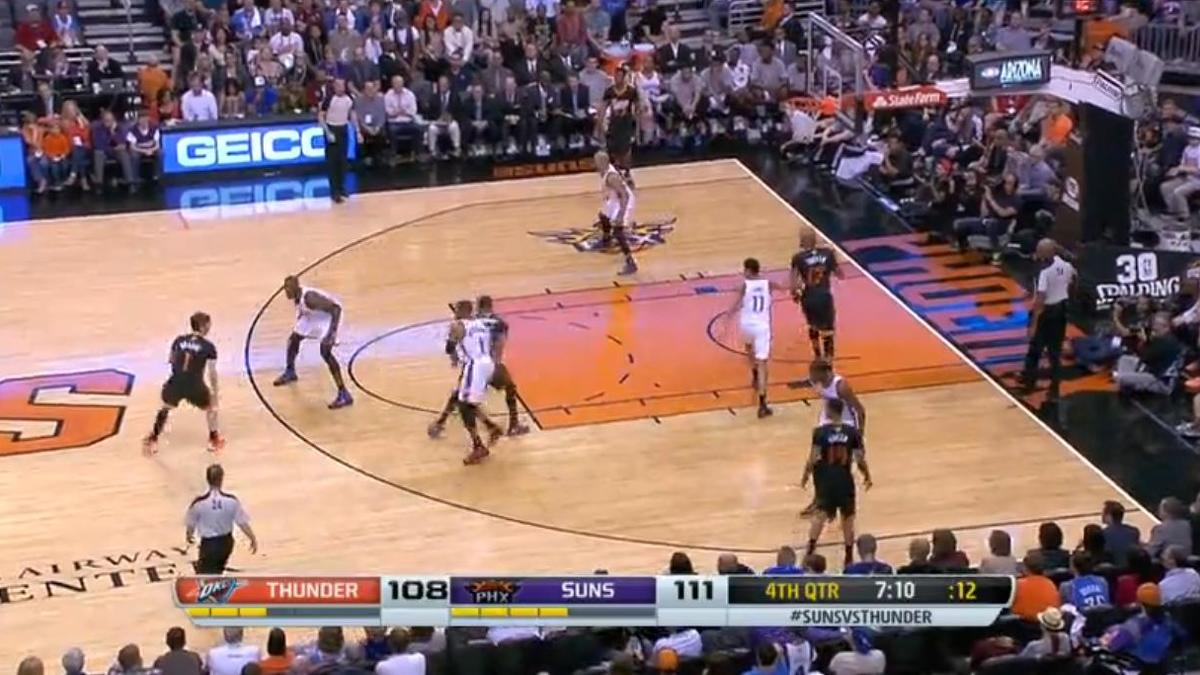 Basket - NBA : Le dunk de la nuit par Gerald Green (vidéo)