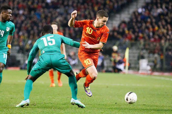 Eden Hazard, Belgique