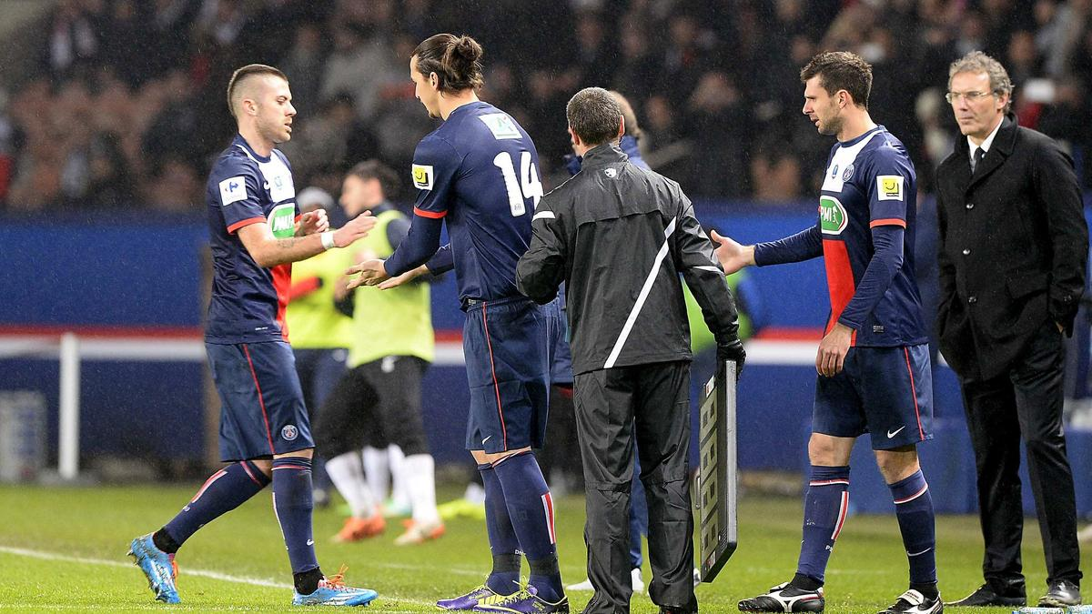 Ibrahimovic - Ménez