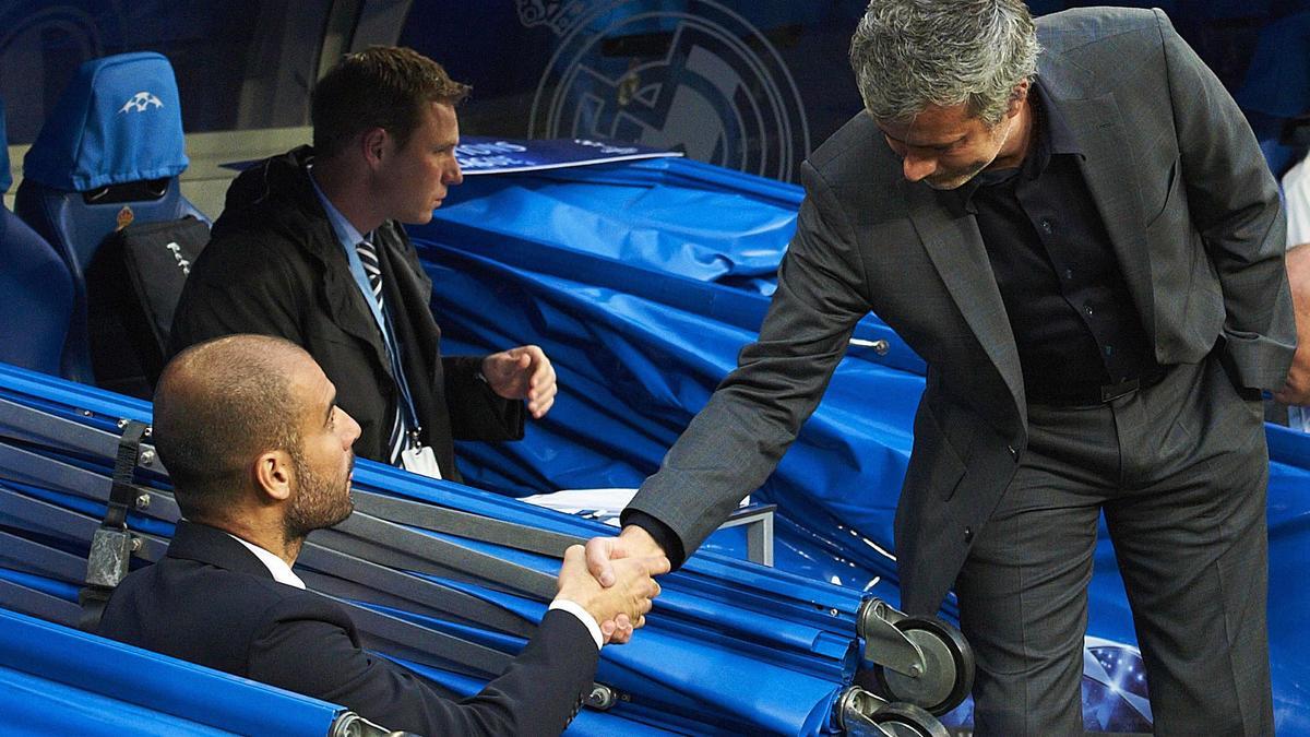 Pep Guardiola & José Mourinho