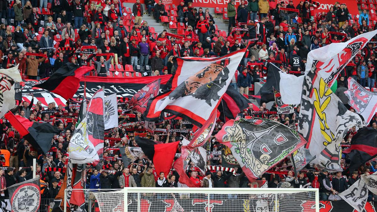 Supporters Bayer Leverkusen