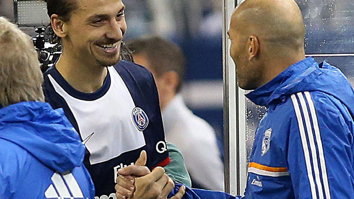 Zlatan Ibrahimovic & Zinedine Zidane