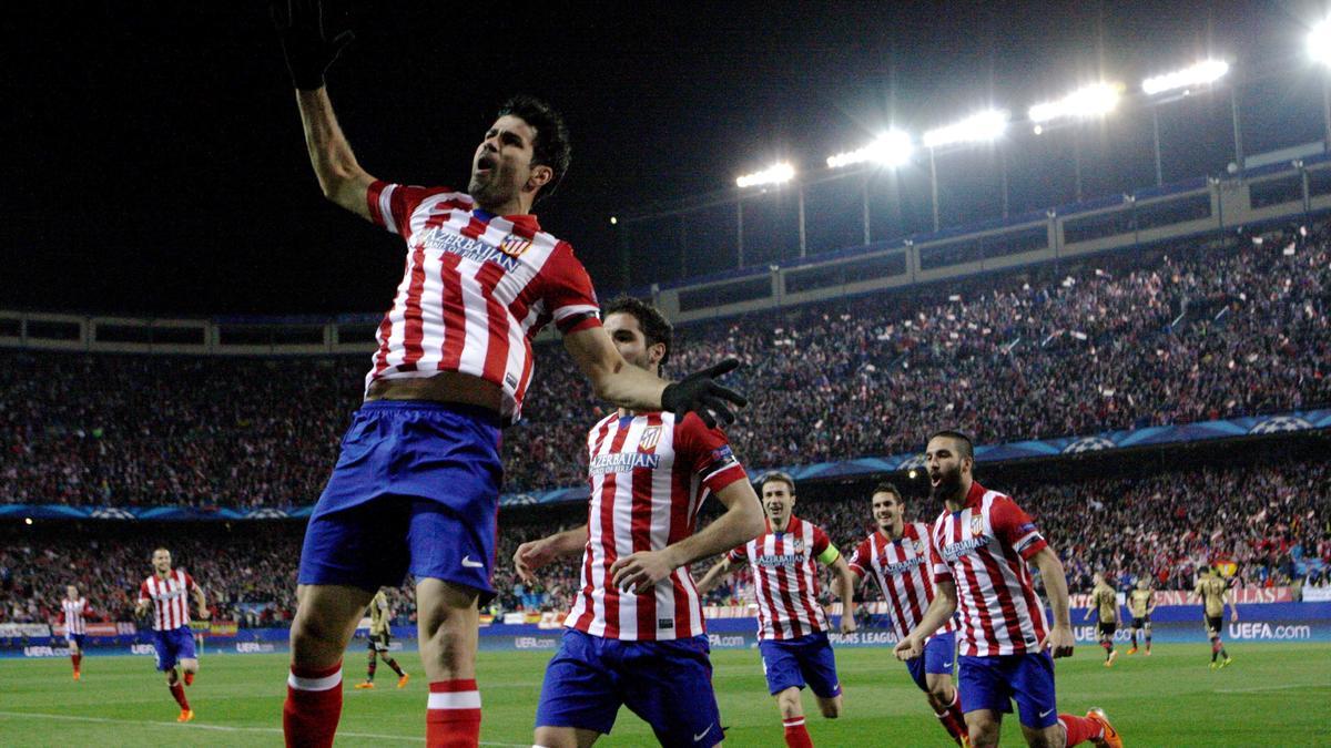 Diego Costa, Atletico Madrid
