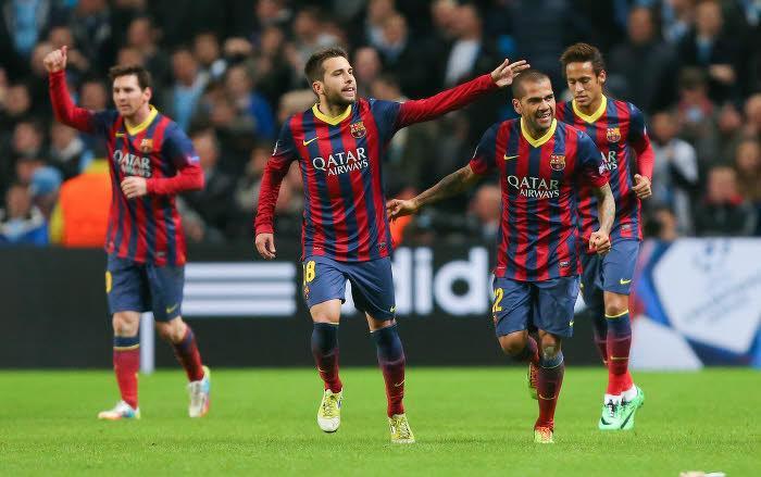 Daniel Alves, FC Barcelone