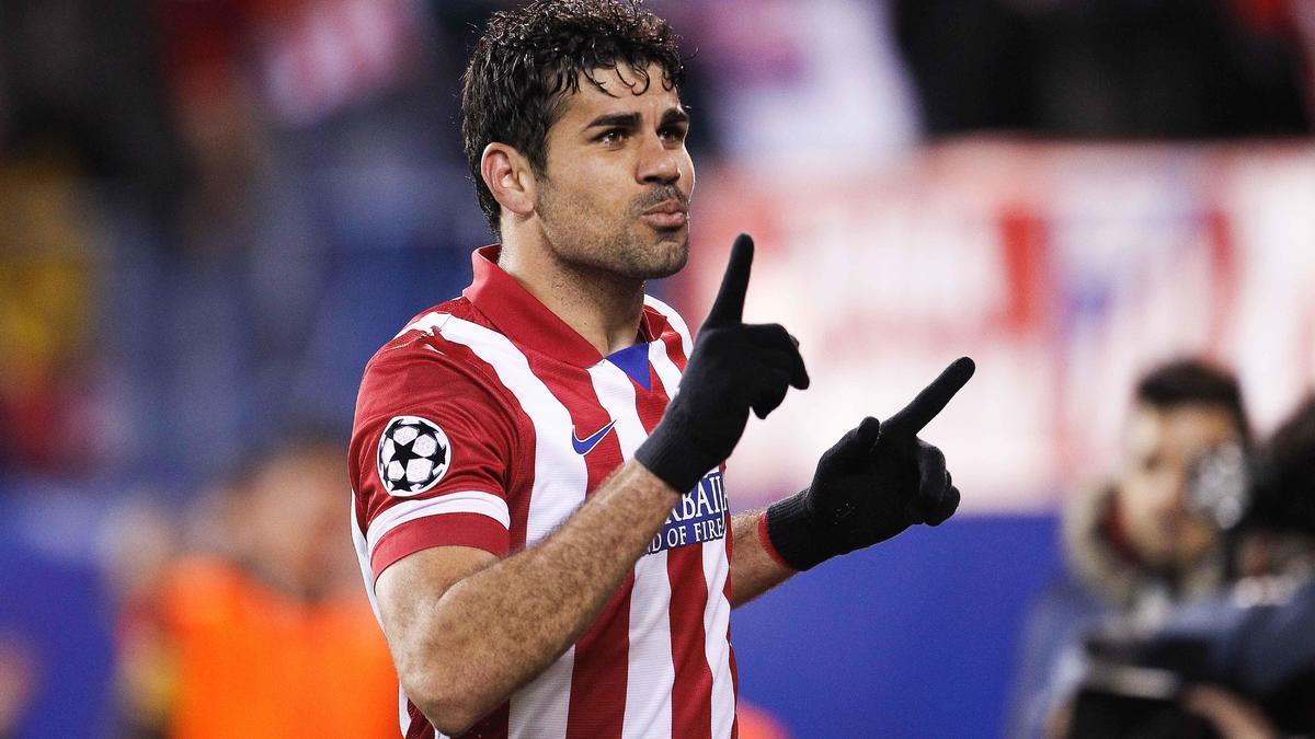 Diego Costa, Atlético Madrid