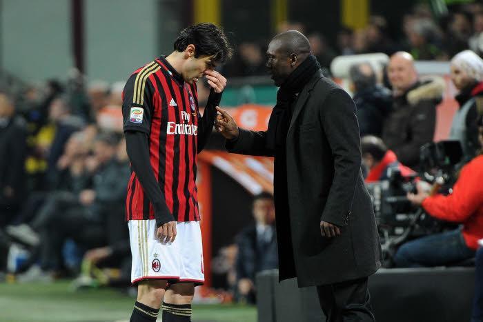 Kaka et Clarence Seedorf, Milan AC