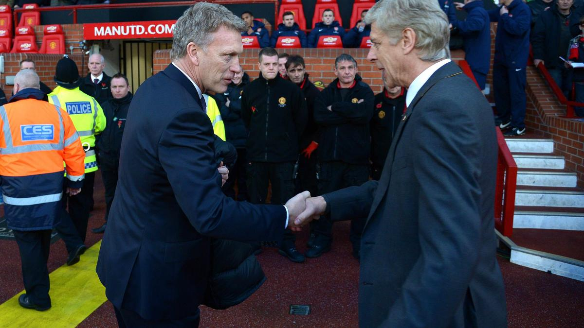 David Moyes & Arsène Wenger