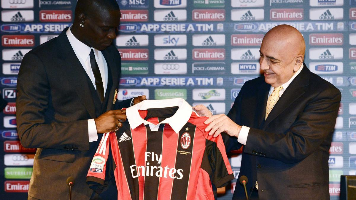 Mario Balotelli - Adriano Galliani