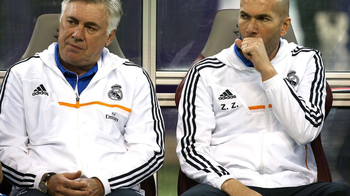 Ancelotti - Zidane