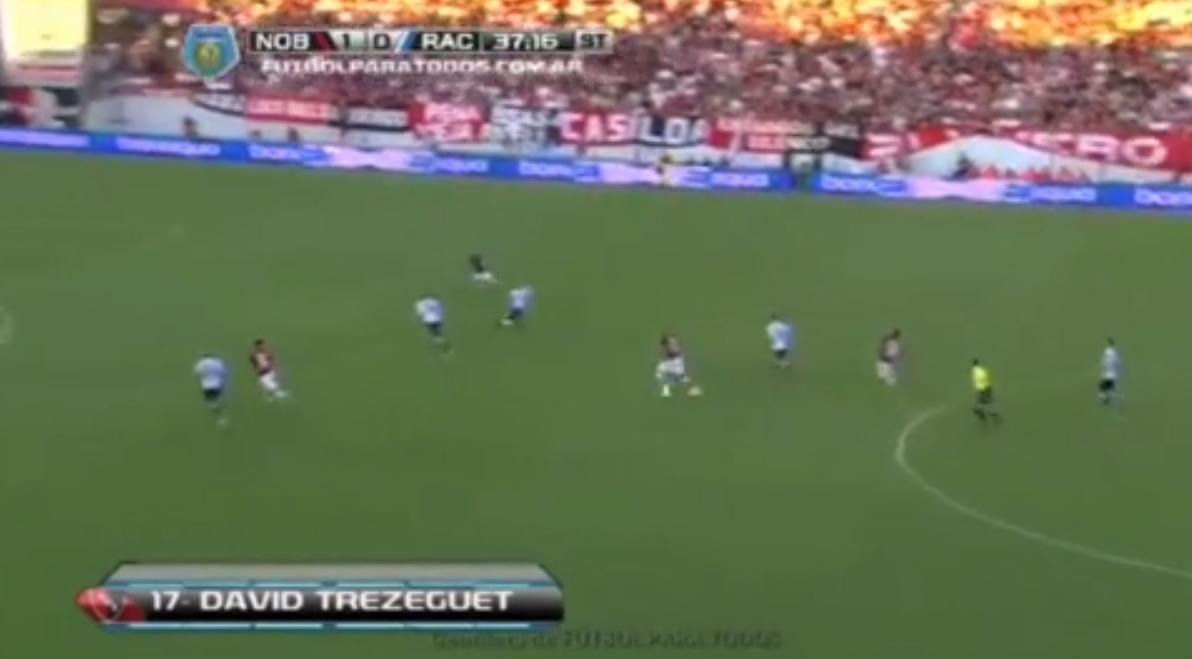 Argentine : Le superbe lob de Trezeguet (vidéo)