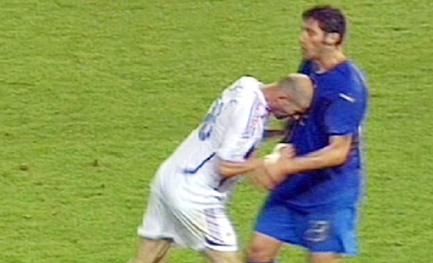 Coupe du monde 2006 : Le « coup de boule » de Zidane (vidéo)